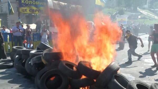 Беспорядки в центре Киева: мнения активистов и силовиков