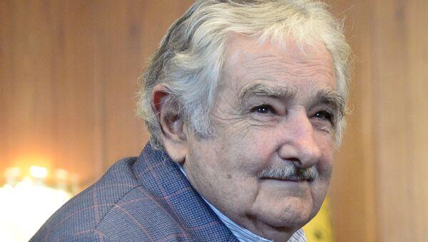 Президент Восточной Республики Уругвай Хосе Мухика. Архивное фото