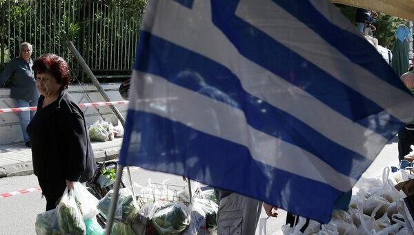 Ситуация в Афинах, Греция. Архивное фото