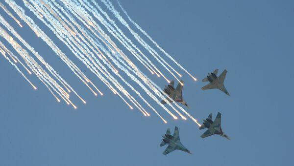 Международный этап конкурса воздушной выучки экипажей авиации Авиадартс. Архивное фото