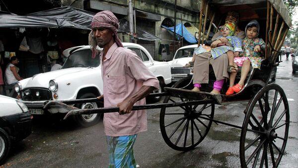 Рикша, Индия