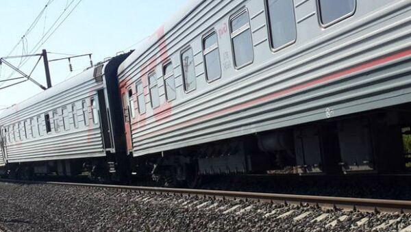 ЧП с пассажирским поездом в Краснодарском крае