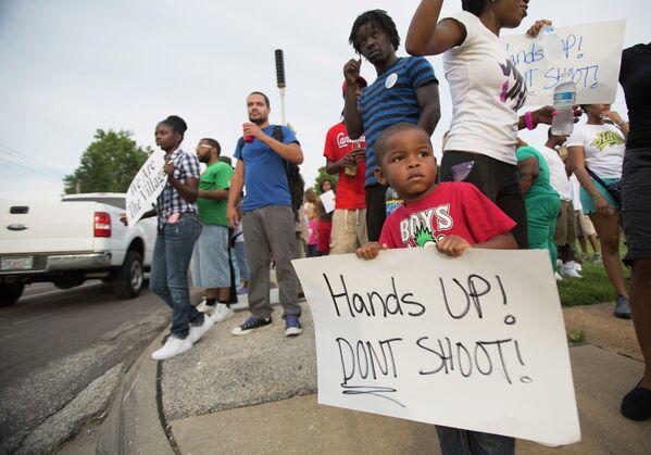 Демонстрация в Сент-Луисе, США