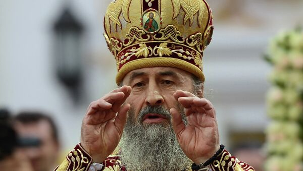 Интронизация нового предстоятеля Украинской православной церкви Московского патриархата