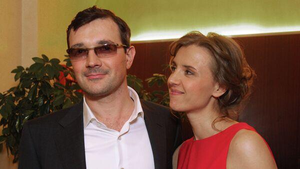 Актеры Ксения Алферова и Егор Бероев. Архивное фото