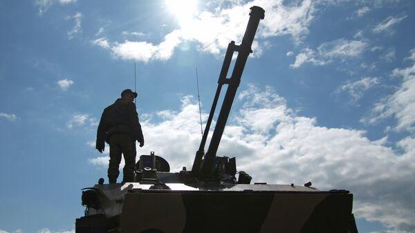Боевая машина десанта БМД-4. Архивное фото