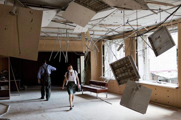 Донецкий музей пострадал в результате обстрела украинскими военными