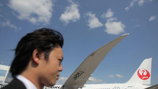 Пассажирский самолет японской авиакомпании Japan Airlines. Архивное фото