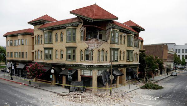 Землетрясение в США. Архивное фото