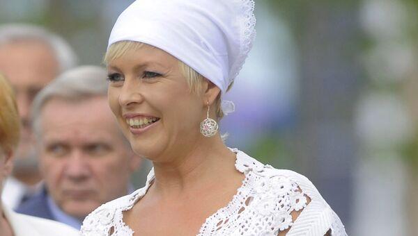 Первая леди Эстонии Эвелин Ильвес. Архивное фото