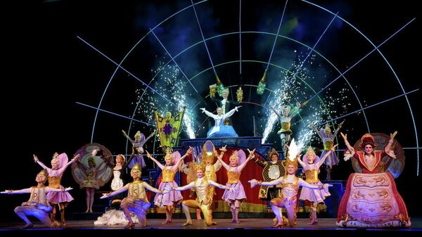 Репетиция мюзикла Disney Красавица и Чудовище в театре Россия