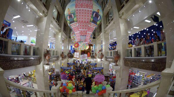 Открытие магазина Детский мир на Воздвиженке