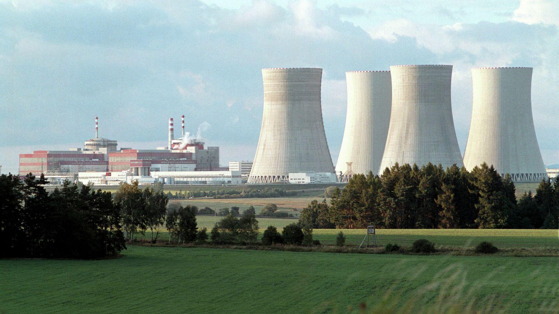 АЭС Темелин в Чехии - РИА Новости, 1920, 11.05.2021