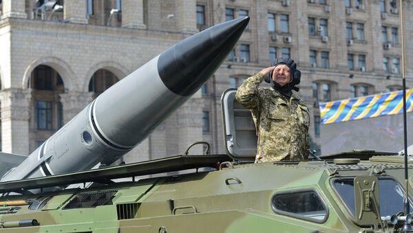 Ракетный комплекс 9К79 Точка-У вооруженных сил Украины. Архивное фото