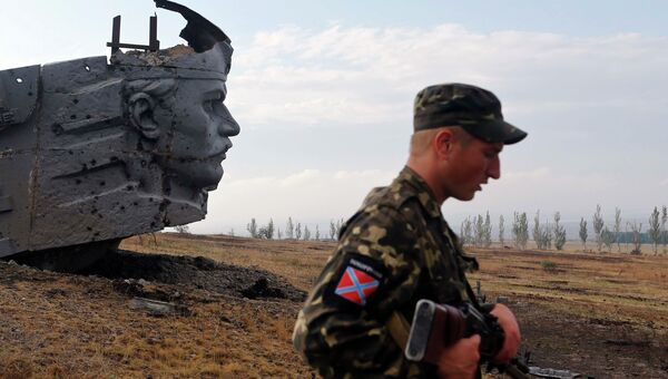 Ополчение ДНР. Архивное фото