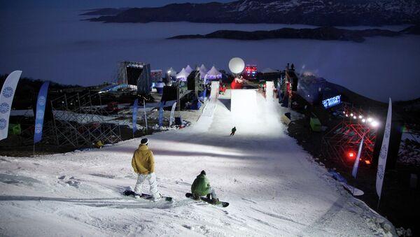 Всесезонный горнолыжный курорт Ведучи. Архивное фото