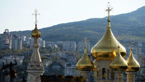 Собор Александра Невского в Ялте. Архивное фото