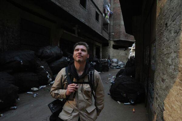 Фотокорреспондент Андрей Стенин в Каире, Египет