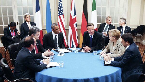 Саммит стран НАТО в Уэльсе