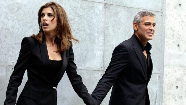 Амал Аламуддин и Джордж Клуни. Архивное фото