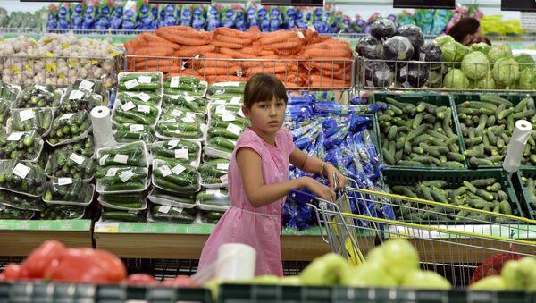 Работа гипермаркета Лента в Новосибирске. Архивное фото