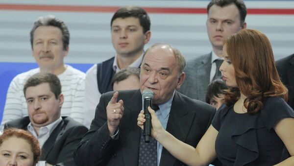 Военный обозреватель Комсомольской правды Виктор Баранец