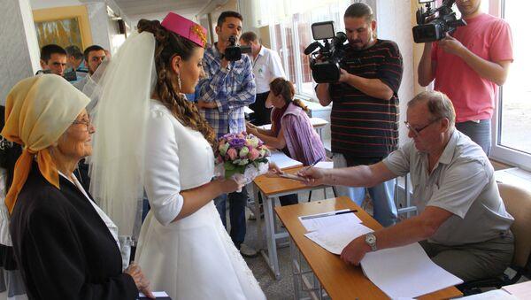Единый день голосования в Крыму. Архивное фото