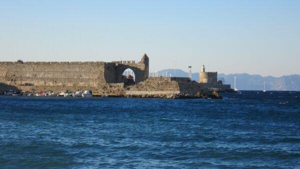 Остров Родос, Греция. Архивное фото