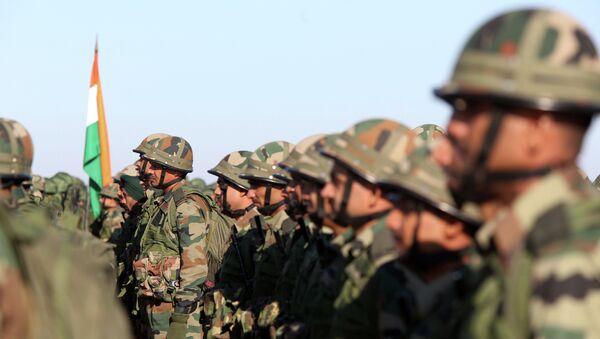 Индийские военнослужащие. Архивное фото