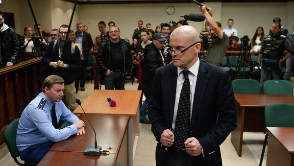 Рассмотрение жалобы на домашний арест главы АФК Система В. Евтушенкова. Архивное фото