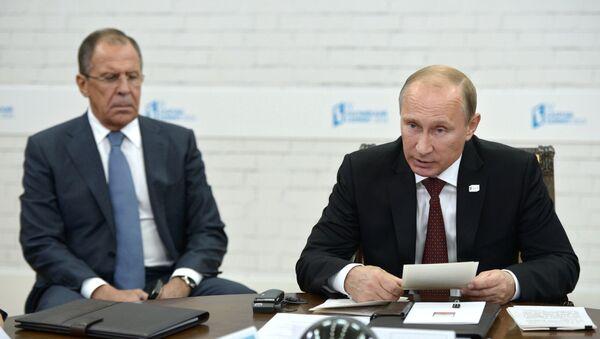 Владимир Путин принимает участие в четвертом Каспийском саммите