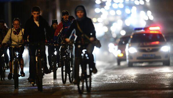 Велопробег Километры победы в Новосибирске