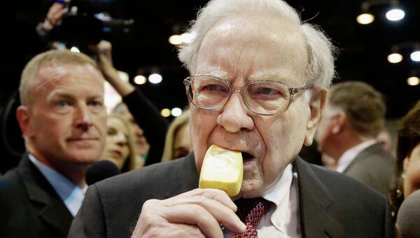 Американский предприниматель и инвестор Уоррен Баффетт. Архивное фото