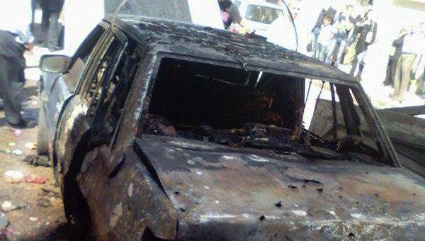 Двойной теракт в Хомсе, Сирия