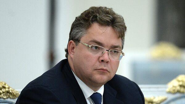 Губернатор Ставропольского края Владимир Владимиров, Архивное фото