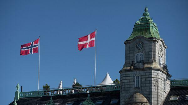 Города мира. Осло. Норвегия. Архивное фото