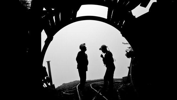 Иранские шахтеры. Архивное фото