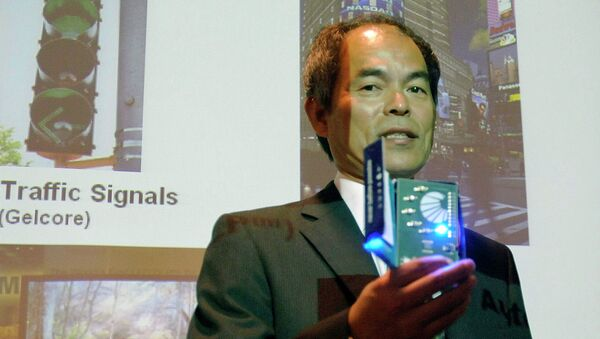 Японский ученый Судзи Накамура, удостоенный Нобелевской премии