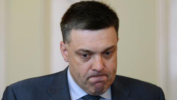 Лидер националистической партии Свобода Олег Тягнибок. Архивное фото