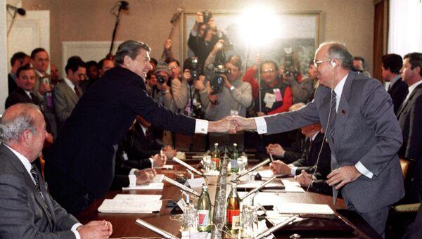Советско-американская встреча на высшем уровне в Женеве