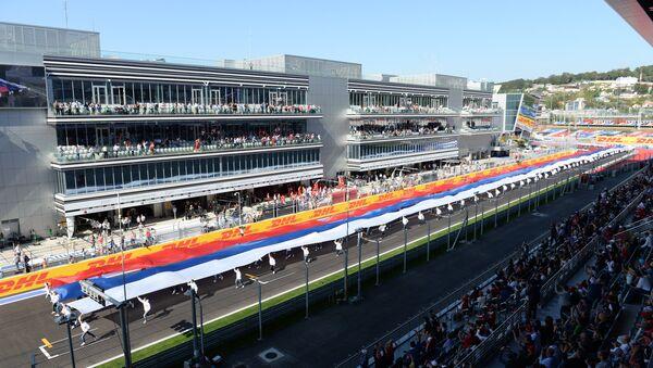 Автоспорт. Формула-1. Гран-при России. Гонка