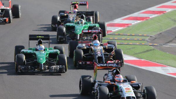 Автоспорт. Формула-1. Архивное фото