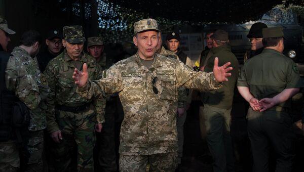 Генерал-полковник Валерий Гелетей. Архивное фото