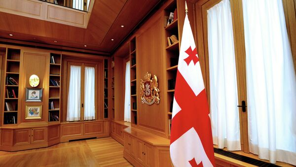 День открытых дверей в президентском дворце в Тбилиси
