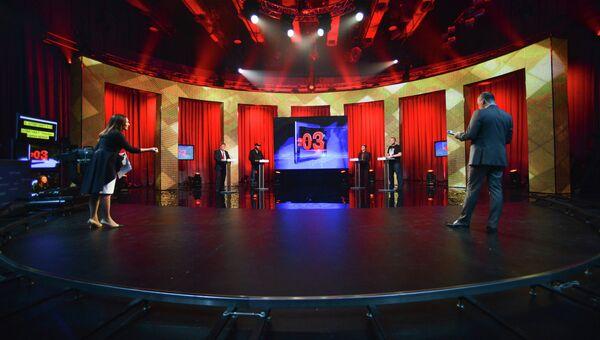 Предвыборные теледебаты прошли в Киеве