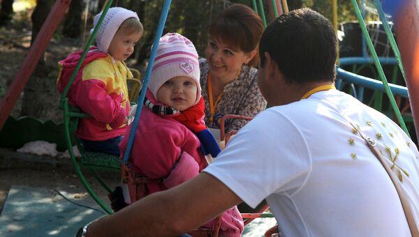 Программа помощи в усыновлении Поезд надежды в Крыму