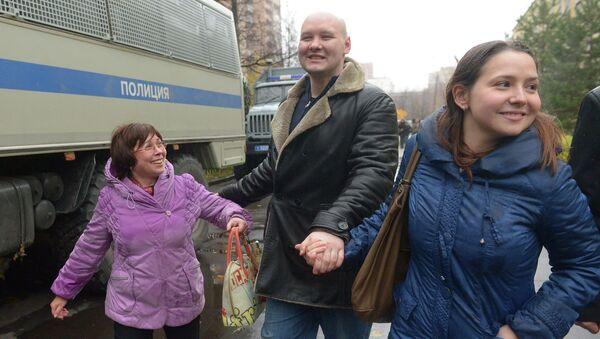 Лидер Лиги обороны Москвы Д.Константинов амнистирован и освобожден