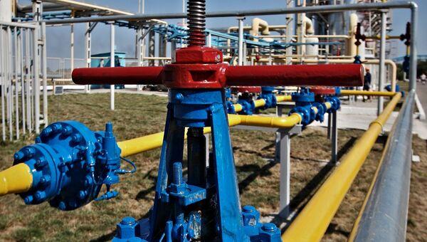 Отделение управления переработки газа на Украине. Архивное фото