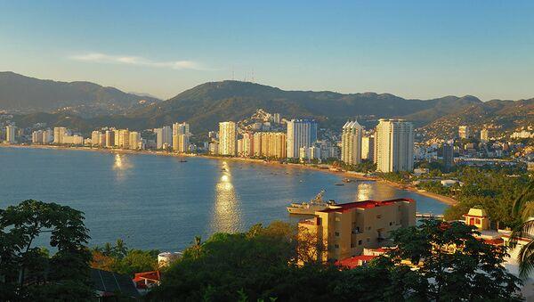 Курортная зона в Акапулько