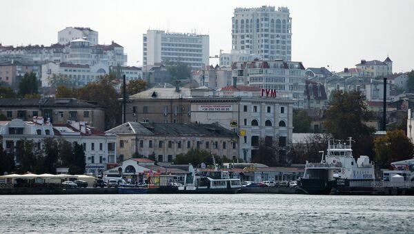 Города России. Севастополь. Архивное фото